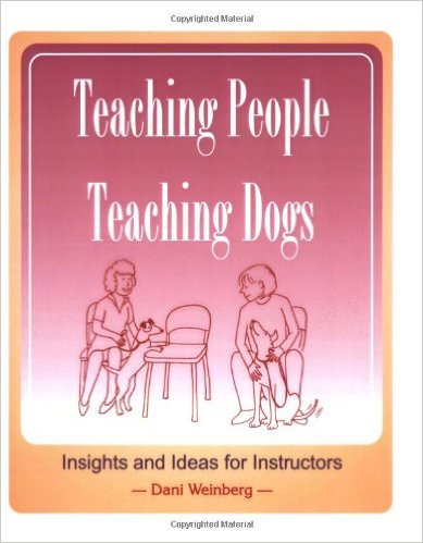 Teaching People, Teaching Dogs book cover