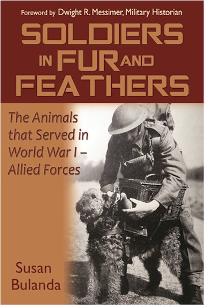 Soldiers in Fur and Feathers book cover