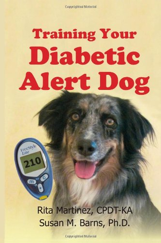 Training Your Diabetic Alert Dog book cover