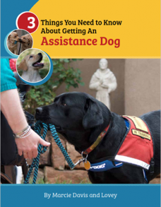 3 Things You Need to Know About Getting An Assistance Dog - Book Cover