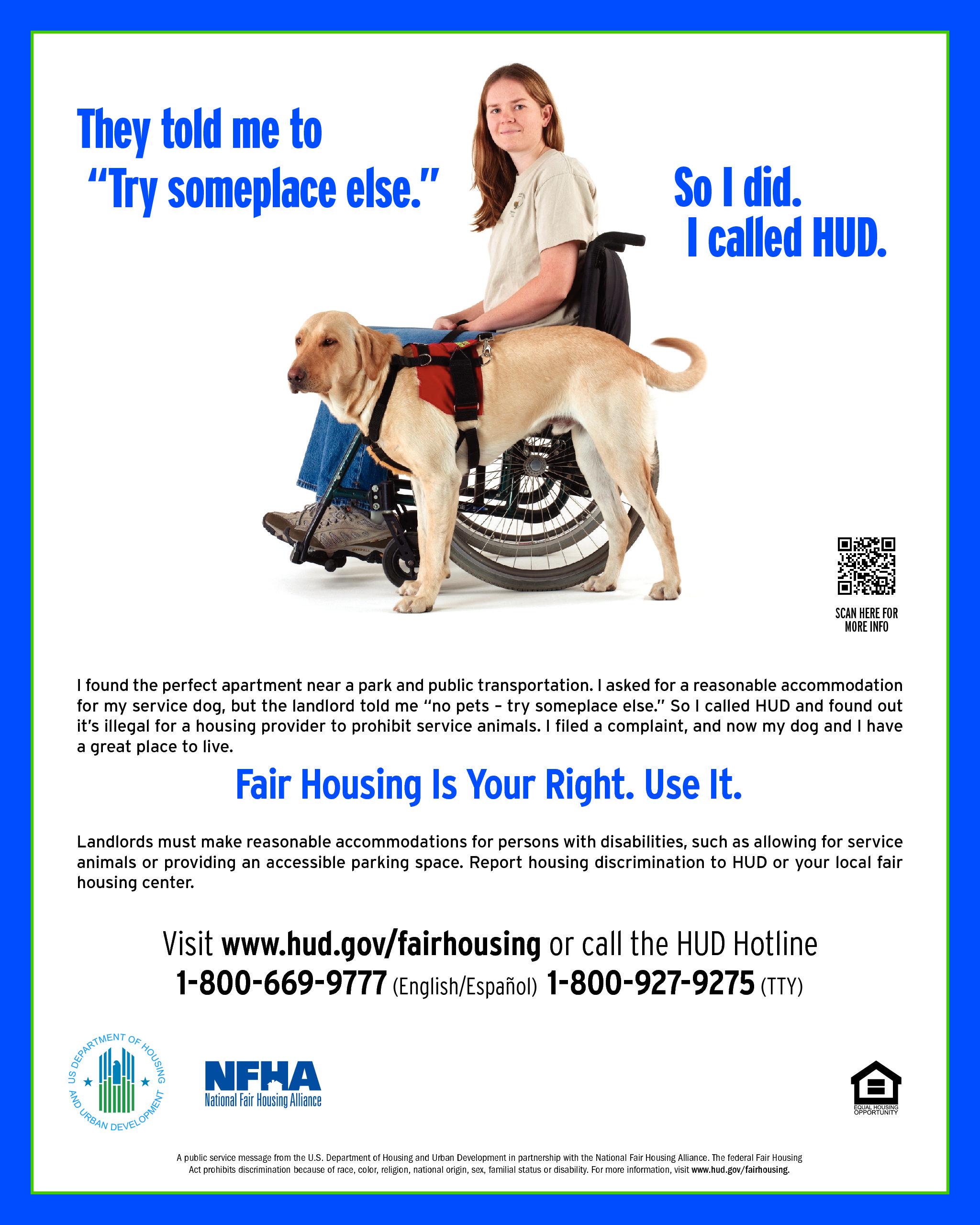 Fair Housing Act Esa Dogs