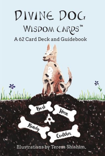 Divine Dog Wisdom Cards™ book cover
