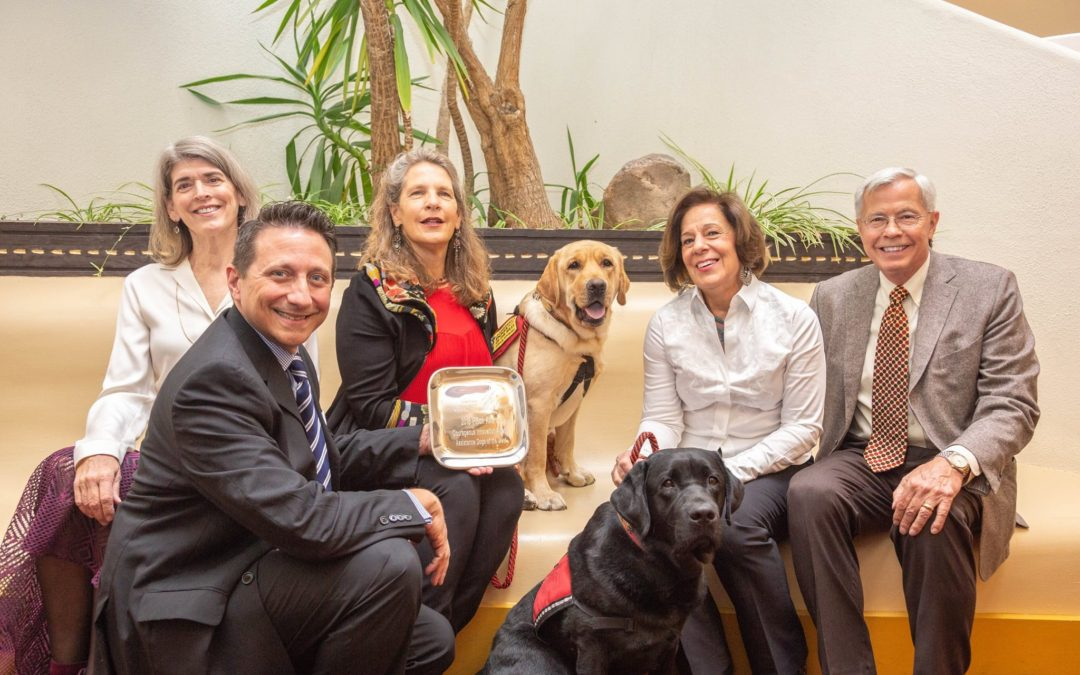 Assistance Dogs of the West Wins Piñon Award for Community Service