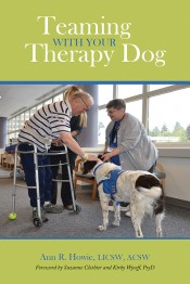 Teaming with your Therapy Dog book cover